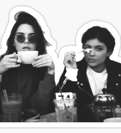 Kendall & Kylie  Sticker