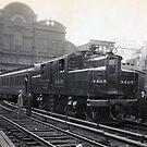 Electric Train, 1906 by flashman