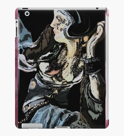 the big woman abstract iPad Case/Skin