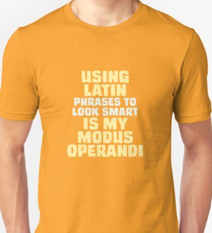 Modus Operandi T-Shirt