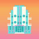«Ocean Surf, Miami 80s» de adovemore