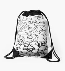Rachel Doodle Art - Awesome Drawstring Bag