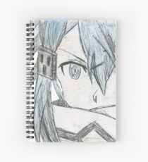 Sinon Drawing Spiral Notebooks