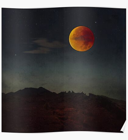Blood Moon Rising Poster