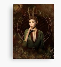Capricorn Zodiac fantasy edition Canvas Print