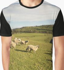 A Country Scene Graphic T-Shirt