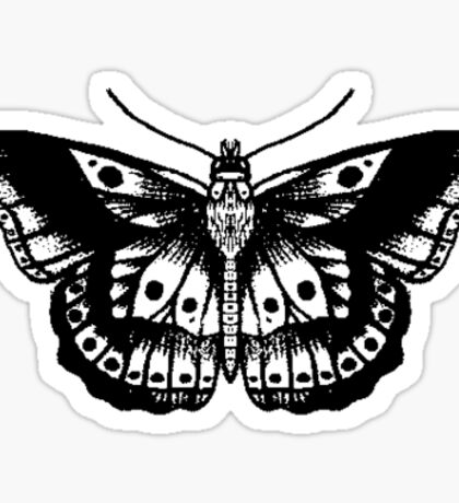 Harry Styles Butterfly Sticker