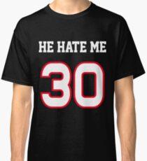 0a2fc3d844 Camiseta clásica El me odia