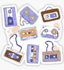 Audio cassette Sticker