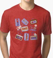 Audio cassette Tri-blend T-Shirt