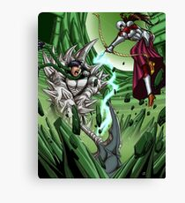 Spheres of Power Mage Battle Canvas Print