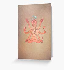 yogi Greeting Card