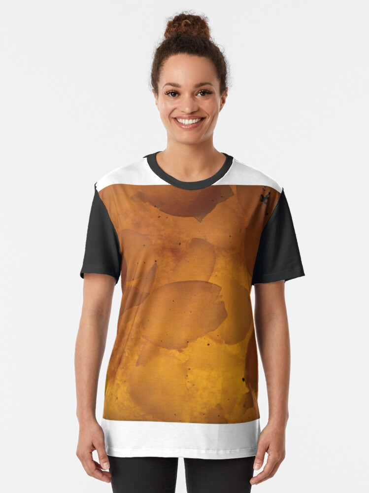 Alternate view of through my almond pie! Graphic T-Shirt
