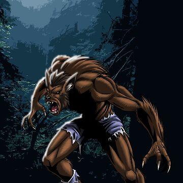 Midnight Werewolf by JacobBlackmon