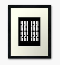 Star Wars: Light Panels Framed Print