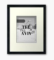 City Series (TLV) Framed Print