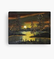 Headwaters Sunset Canvas Print