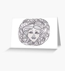 Madame Leota (Haunted Mansion) Greeting Card
