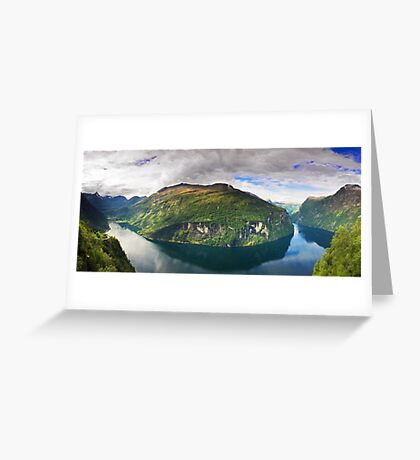 Ornevegen view Greeting Card
