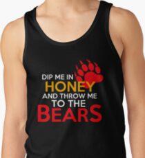Camiseta de tirantes Mézclame en miel y tírame a los osos 2