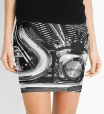 Heavy Metal Mini Skirt