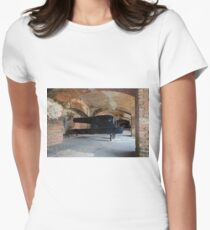 American Civil War Cannon Women's Fitted T-Shirt