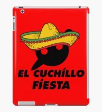 El Cuchillo Fiesta Knife Party iPad Case/Skin
