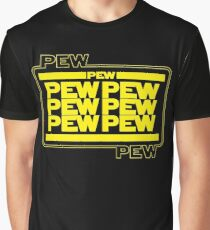 PEWPEW Graphic T-Shirt