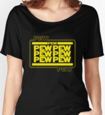 PEWPEW Women's Relaxed Fit T-Shirt