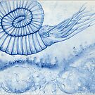 Devonian Blues - Ammonite by Bart Castle