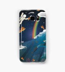 Intergalactic Undersea Pizza Party Samsung Galaxy Case/Skin