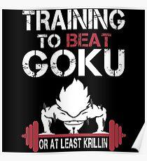 Goku Gym Poster
