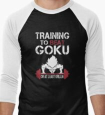 Goku Gym Men's Baseball ¾ T-Shirt