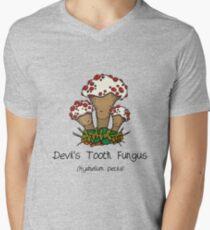 Devil's Tooth Fungus Mens V-Neck T-Shirt