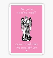 Are You a Weeping Angel? Sticker