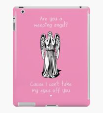 Are You a Weeping Angel? iPad Case/Skin