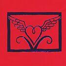 Flying Heart by Margaret Vance