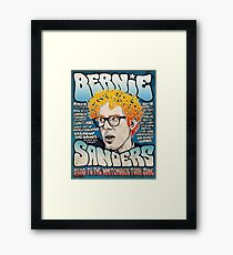 Bernie Sanders Road To The Whitehouse Tour 2016 Framed Print