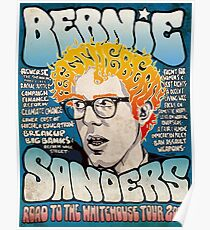 Bernie Sanders Road To The Whitehouse Tour 2016 Poster