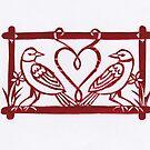 Love Birds by Margaret Vance