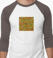 Bright background with diverse leaves and flowers T-Shirt