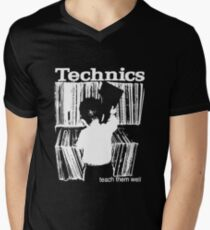 technics 1 Men's V-Neck T-Shirt