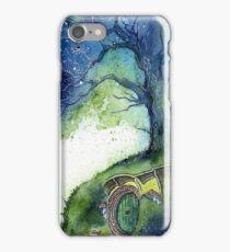 Oak Tree Fireflies iPhone Case/Skin