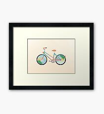 Pimp my bike Framed Print