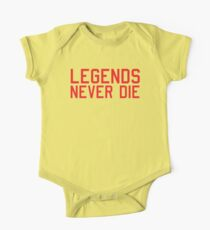 Legends Never Die Kids Clothes