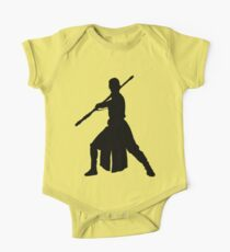 Rey - Fighting Stance Silhouette One Piece - Short Sleeve