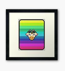 GRACIE ANIMAL CROSSING Framed Print