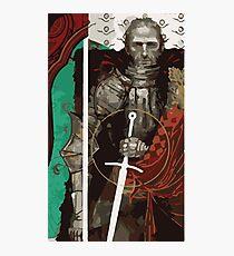 Cullen Tarot Card Photographic Print