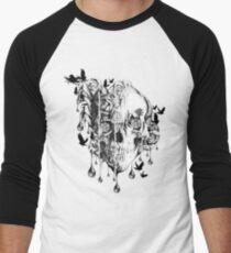 Melt down Men's Baseball ¾ T-Shirt