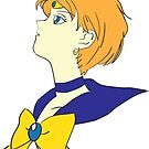 Stargazer - Sailor Uranus from Sailor Moon (Color) by Aphina